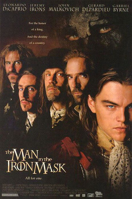 The Man in the Iron Mask Poster #1