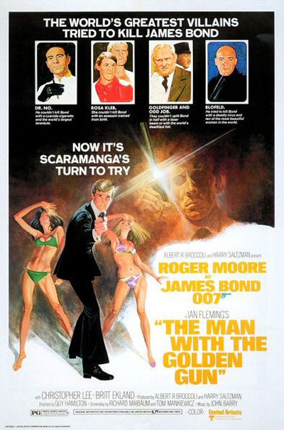 The Man With the Golden Gun Poster #2