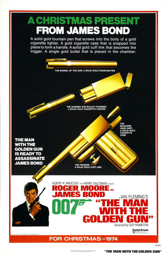 The Man With the Golden Gun Poster #3