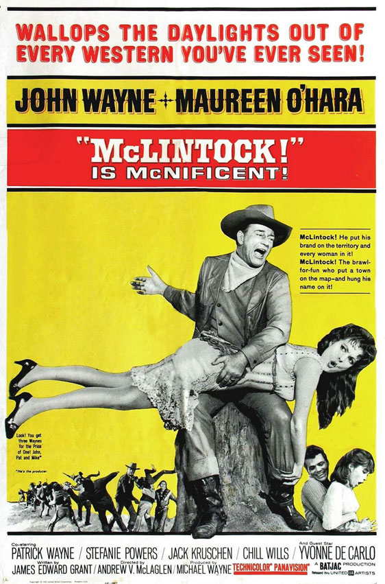 McLintock! Poster #1