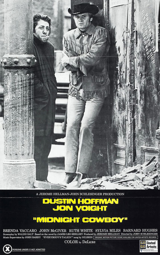 Midnight Cowboy Poster #1