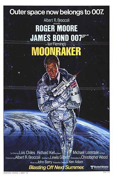 Moonraker Poster #2