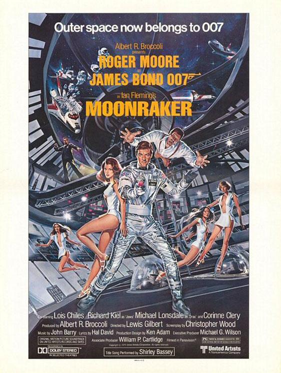 Moonraker Poster #3