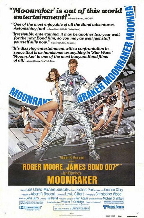 Moonraker Poster #4