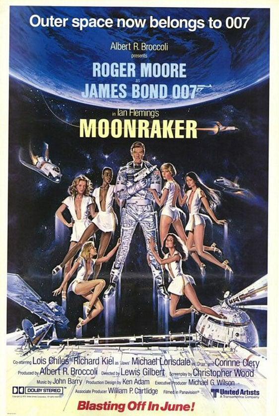 Moonraker Poster #1