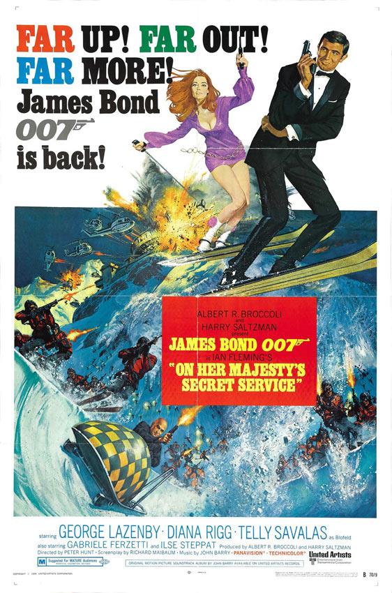 On Her Majesty's Secret Service Poster #1