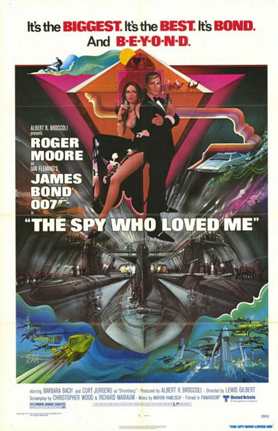 The Spy Who Loved Me Poster #1