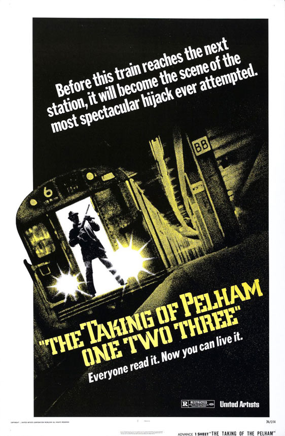 The Taking of Pelham One Two Three Poster #2