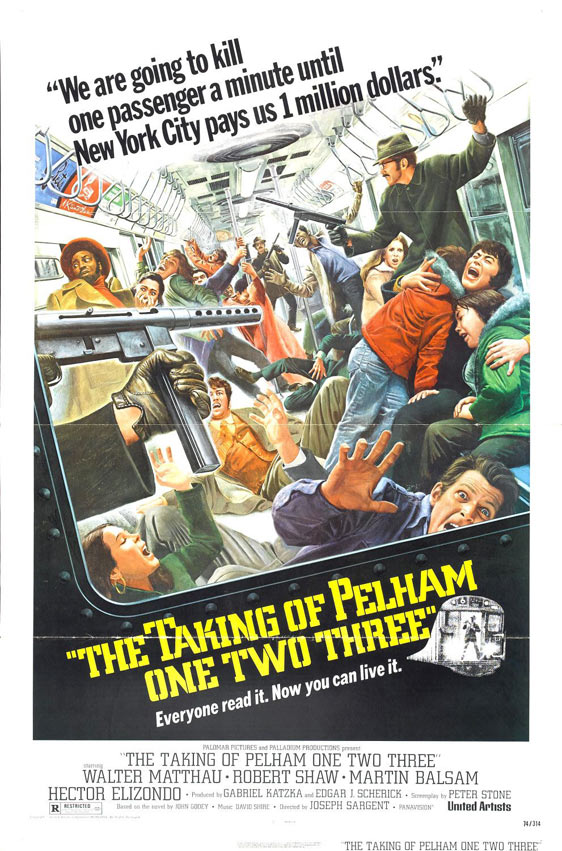 The Taking of Pelham One Two Three Poster #1