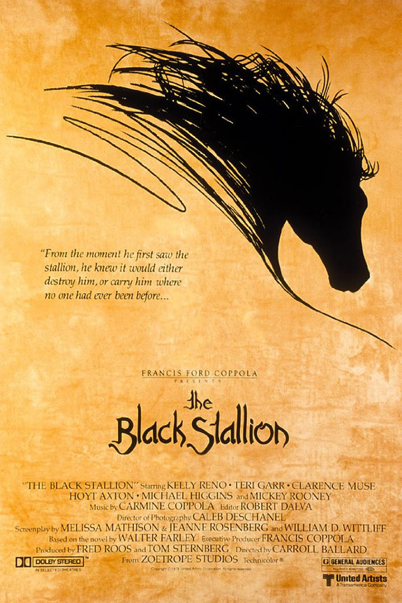 The Black Stallion Poster #1