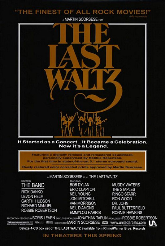 The Last Waltz Poster #1