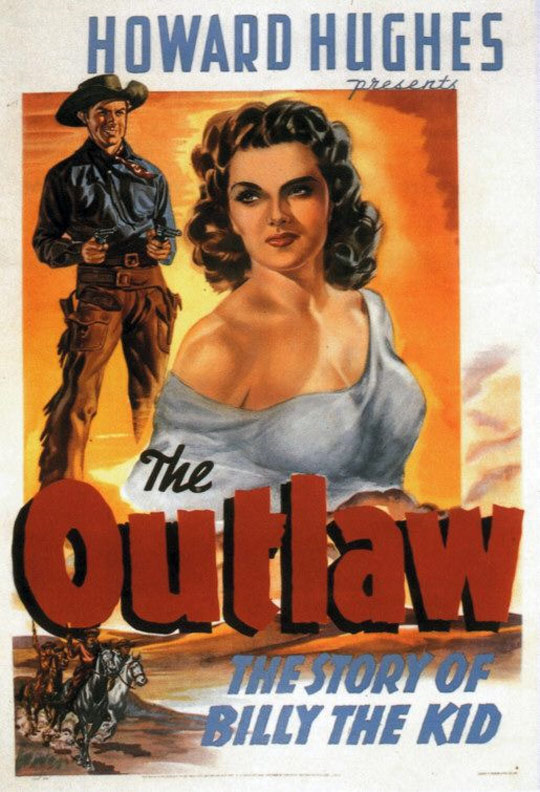 The Outlaw (1943) Poster #1 - Trailer Addict