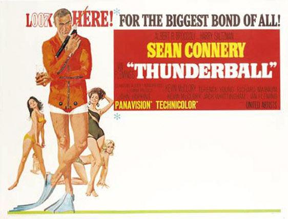 Thunderball Poster #2