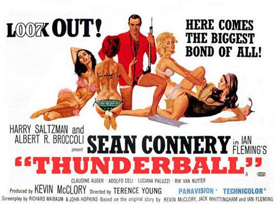 Thunderball Poster #3