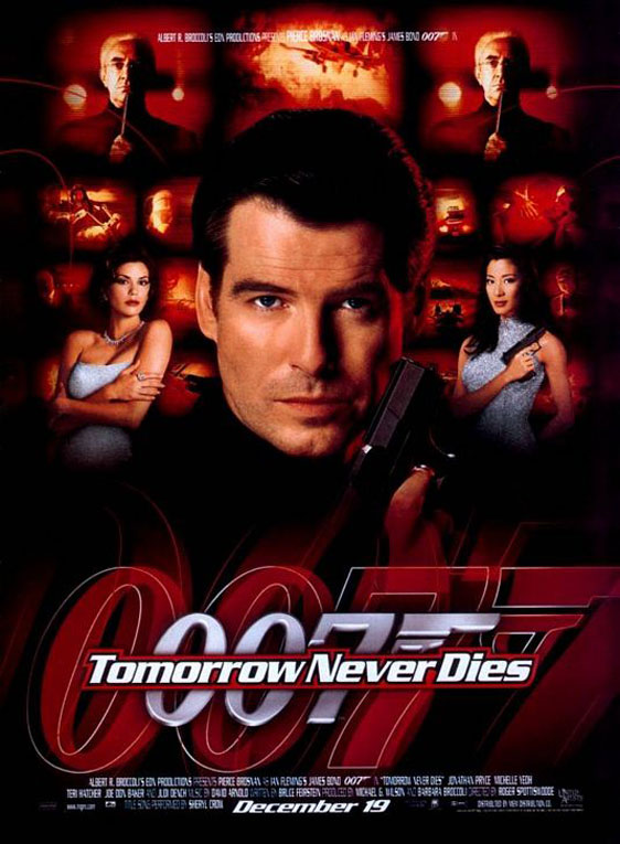 Tomorrow Never Dies Poster #1