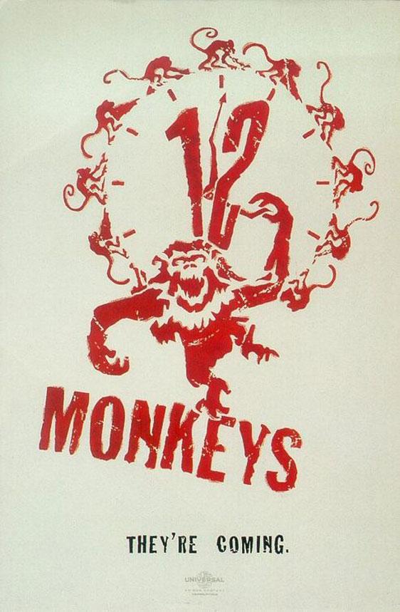 12 Monkeys Poster #2
