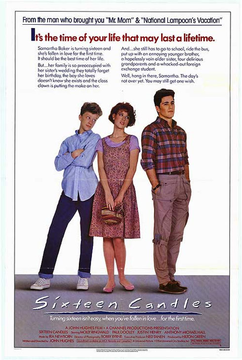 Sixteen Candles Poster #2