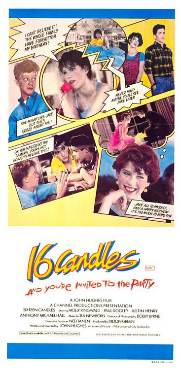 Sixteen Candles Poster #3