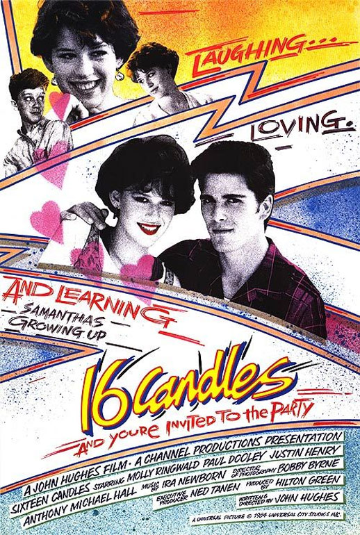 Sixteen Candles Poster #1