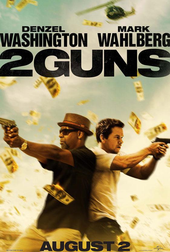2 Guns Poster #1