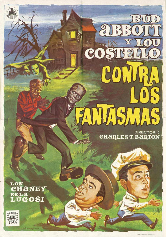 Bud Abbott Lou Costello Meet Frankenstein Poster #2