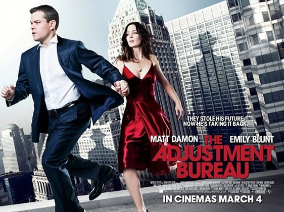 The Adjustment Bureau Poster #2