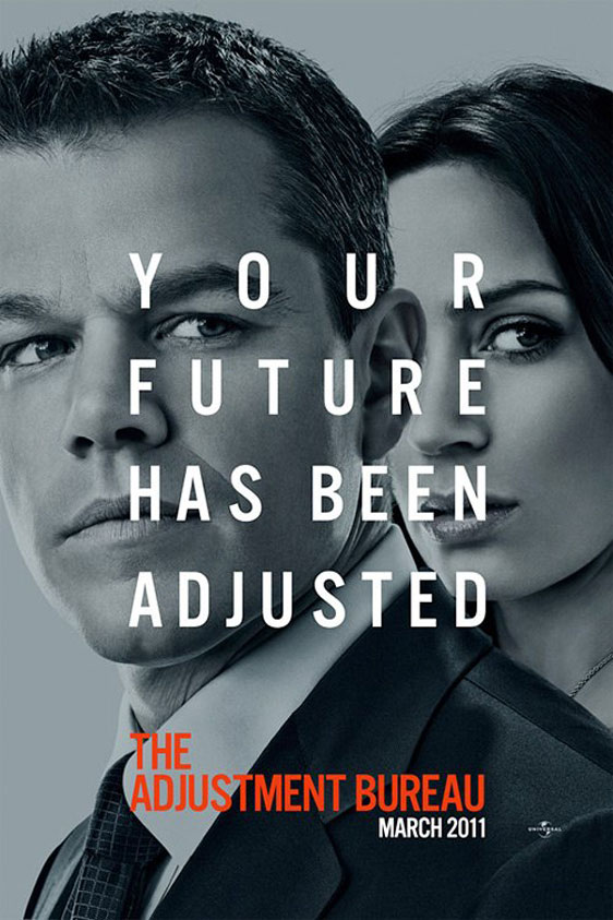 The Adjustment Bureau Poster #3