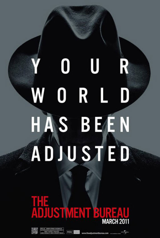 The Adjustment Bureau Poster #4