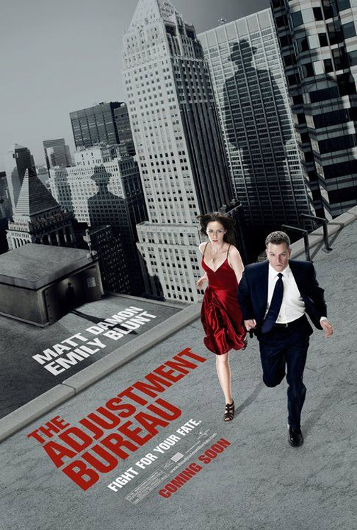 The Adjustment Bureau Poster #1