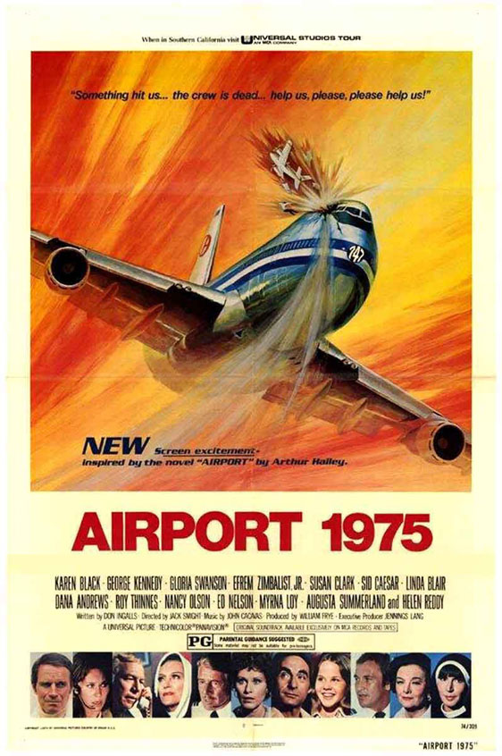 Airport 1975 Poster #1