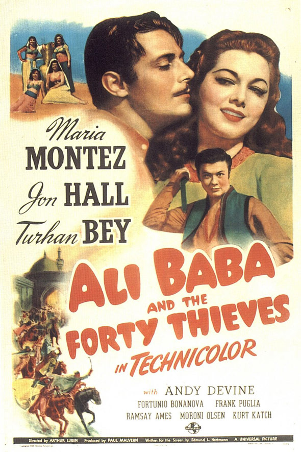 Ali Baba and the Forty Thieves Poster #1