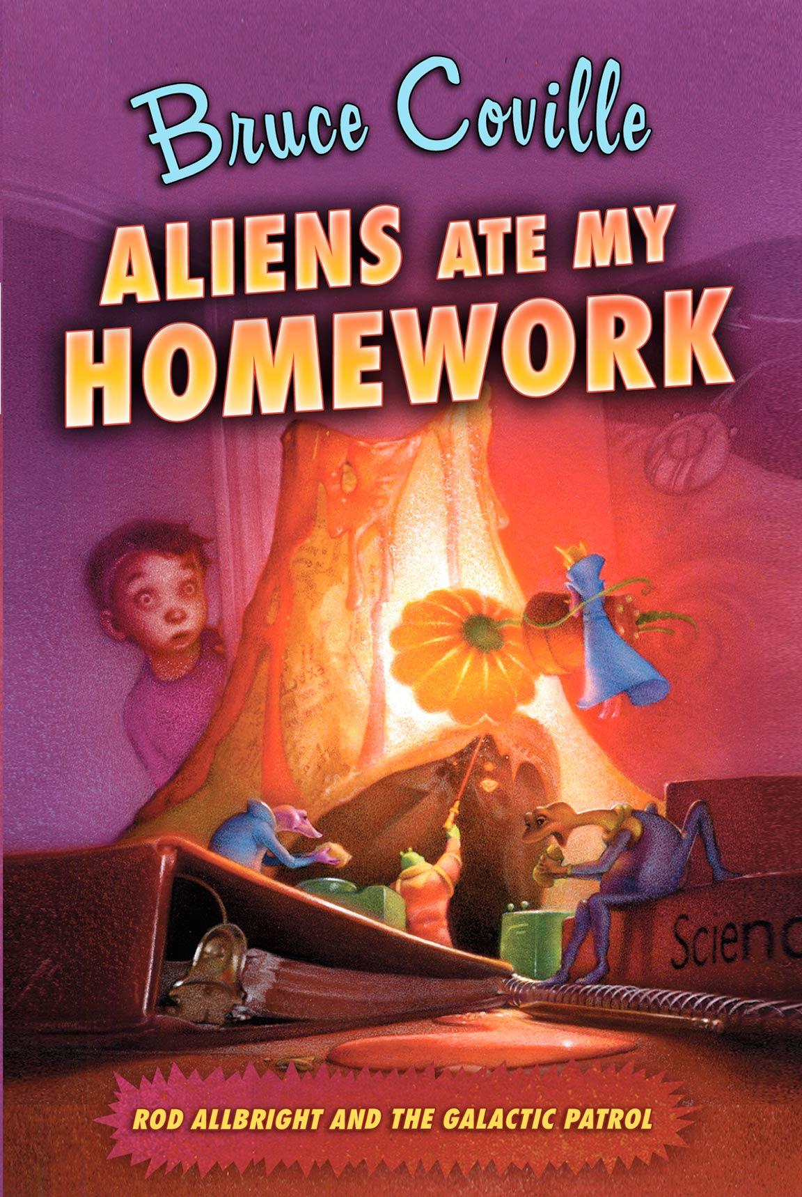 Aliens Ate My Homework Poster #1