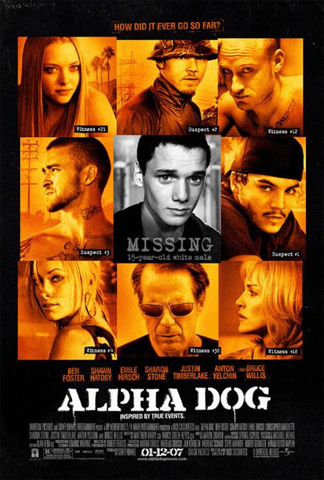 Alpha Dog Poster #1