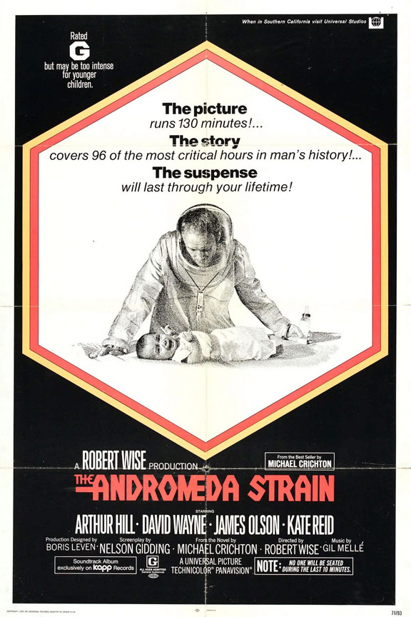 The Andromeda Strain Poster #1