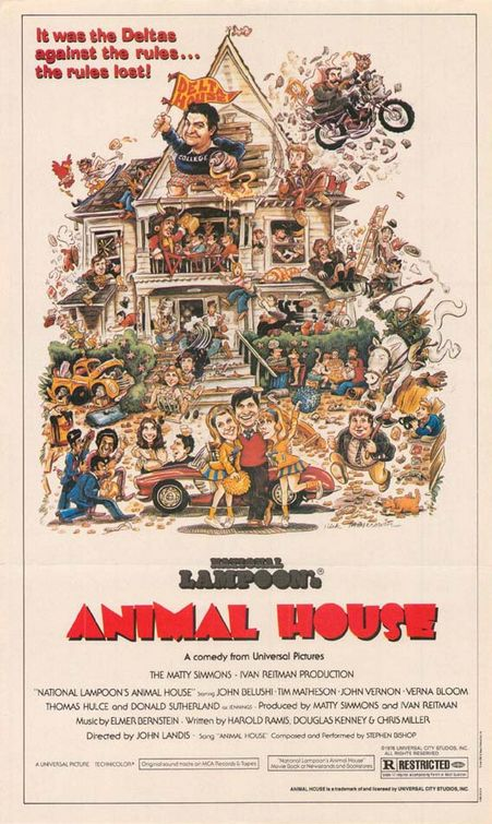 Animal House Poster #1