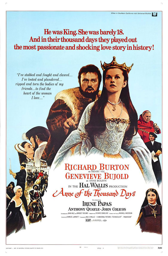 Anne of the Thousand Days Poster #1