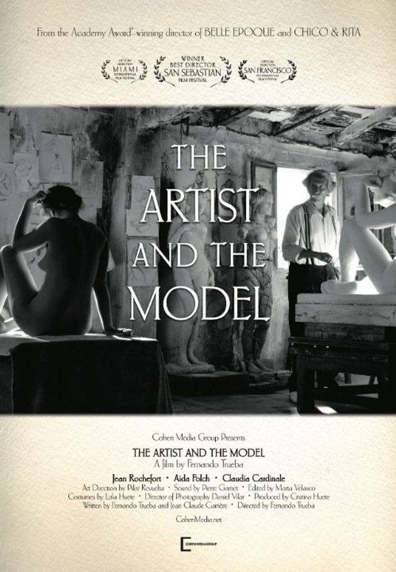 The Artist and the Model Poster #2