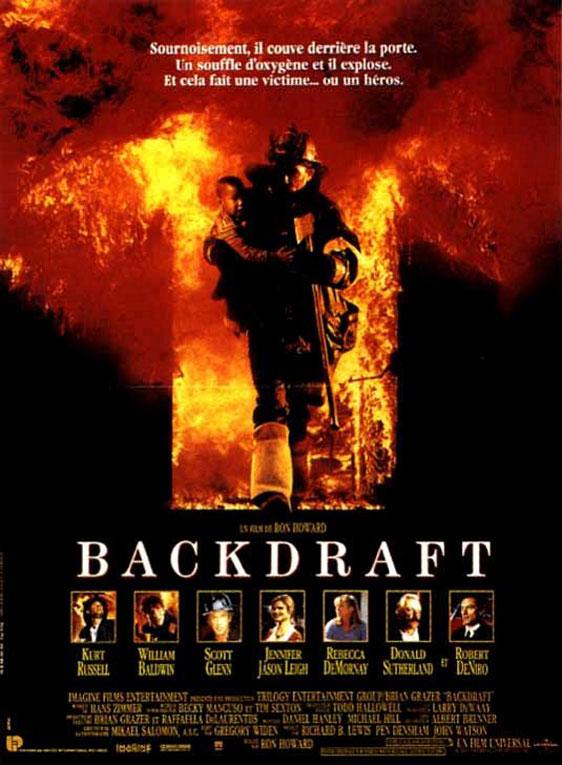 Backdraft Poster #1