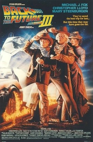 Back to the Future Part III Poster #1