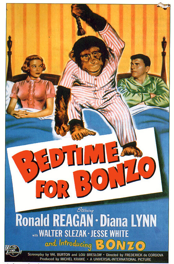 Bedtime for Bonzo Poster #1