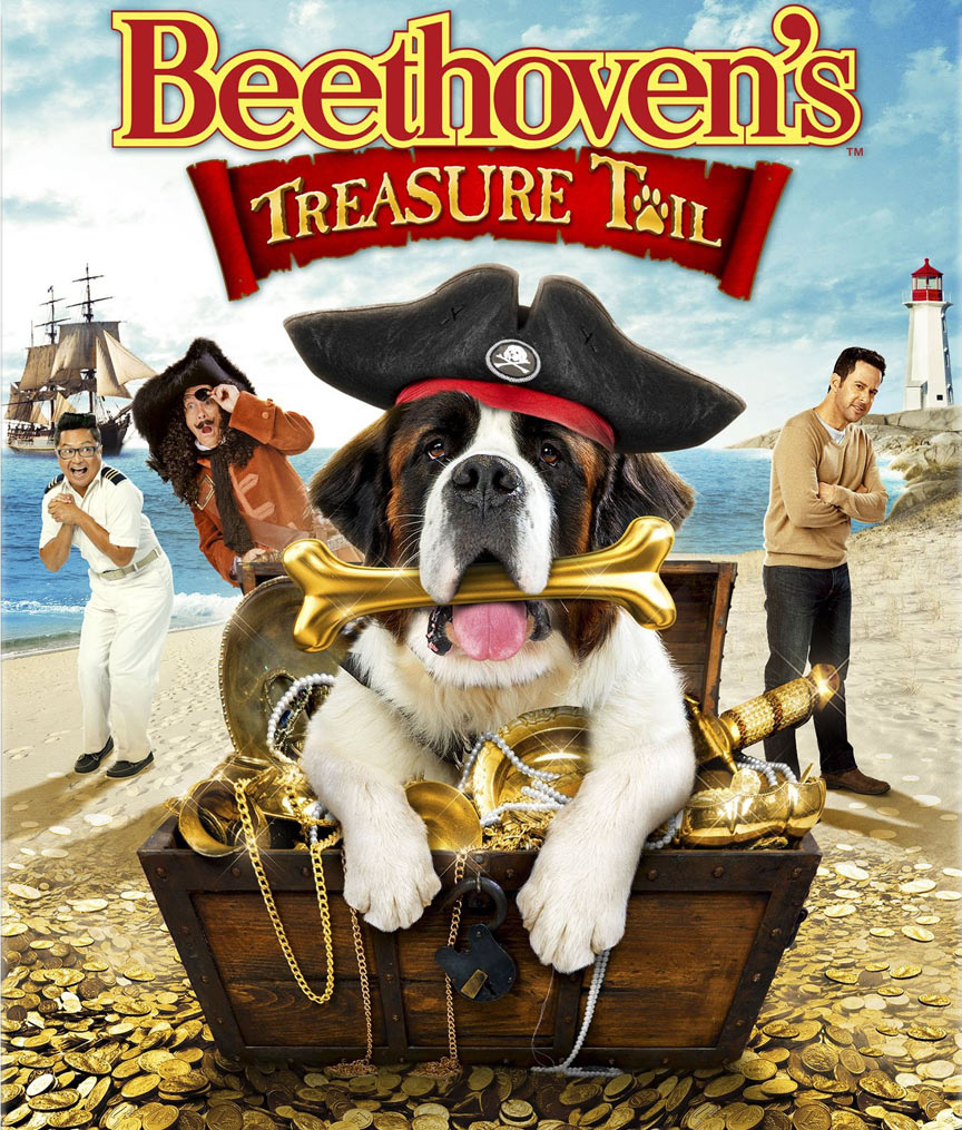 Beethoven's Treasure Tail Poster #1
