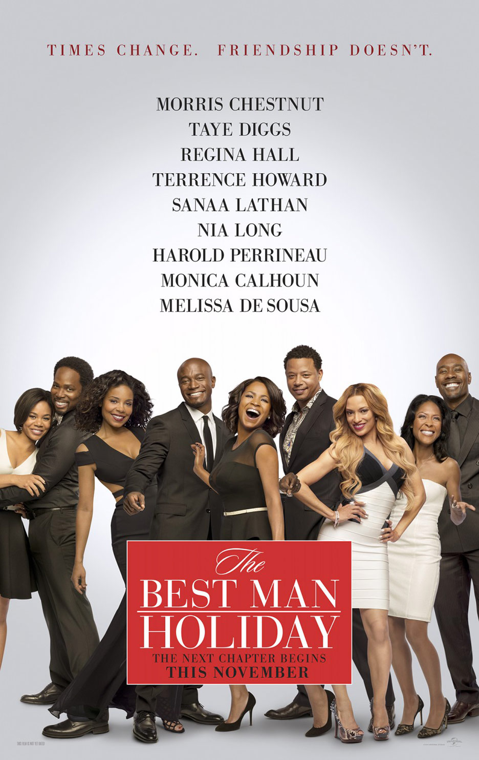 The Best Man Holiday Poster #1