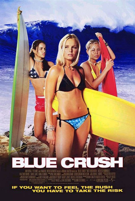 Blue Crush Poster #1