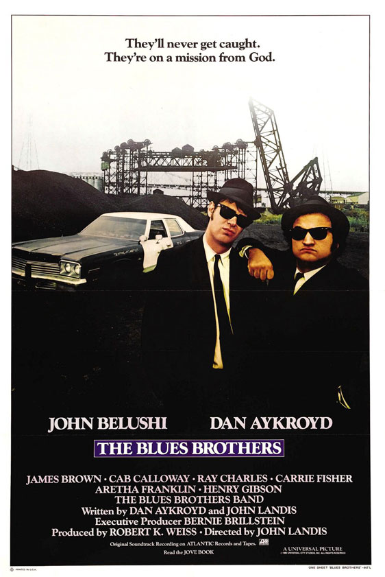 The Blues Brothers Poster #1