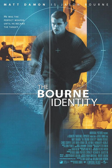 The Bourne Identity Poster #1
