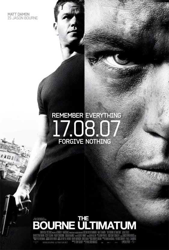 The Bourne Ultimatum Poster #2