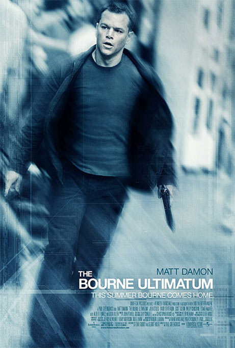 The Bourne Ultimatum Poster #1