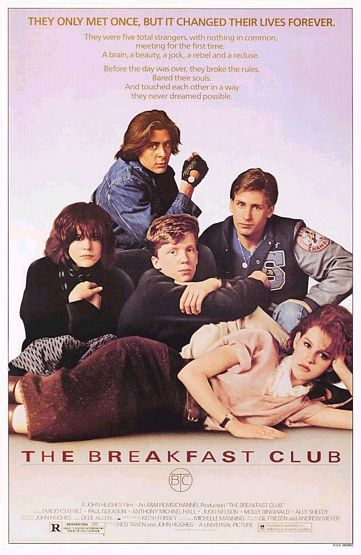 The Breakfast Club Poster #1