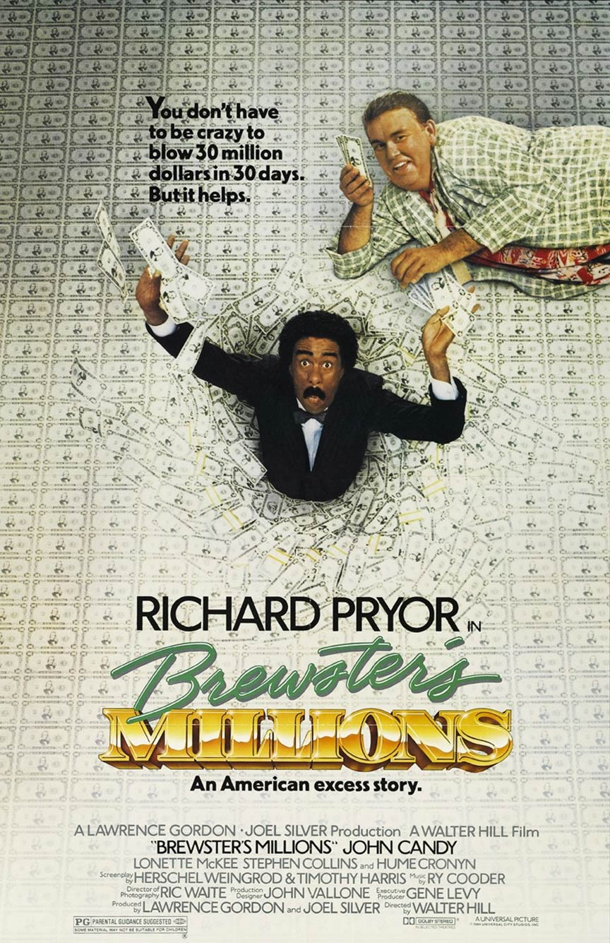 Brewster's Millions Poster #1
