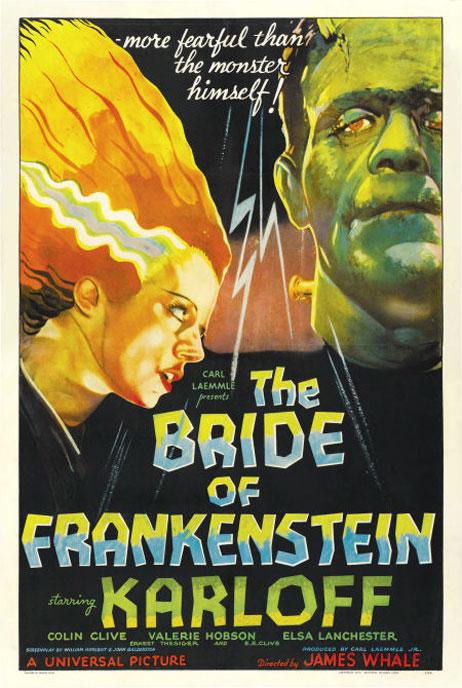 Bride of Frankenstein Poster #2